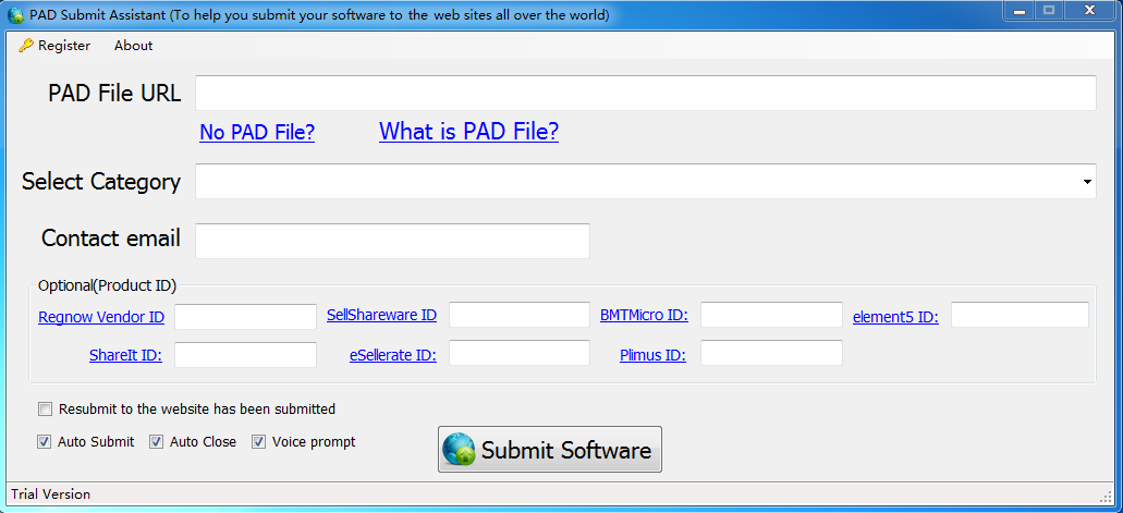 Windows 7 PAD Submit Assistant 1.0 full
